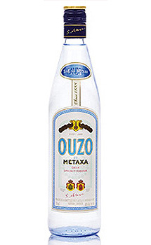 Ouzo By Metaxa Brandy