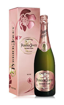 PERRIER JOUET CHAMPAGNE BLASON ROSE