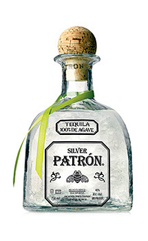 Patrón Silver Tequila, Crystal clear and smooth tequila