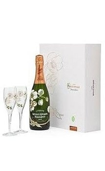 PERRIER JOUËT BELLE EPOQUE CHAMPAGNE GIFT SET WITH 2 FLUTES