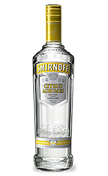 SMIRNOFF CITRUS FLAVORED VODKA