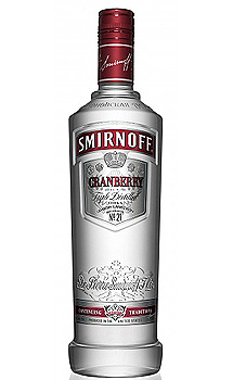 SMIRNOFF CRANBERRY FLAVORED VODKA