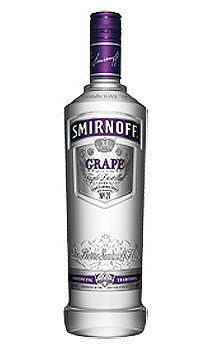 SMIRNOFF GRAPE FLAVORED VODKA