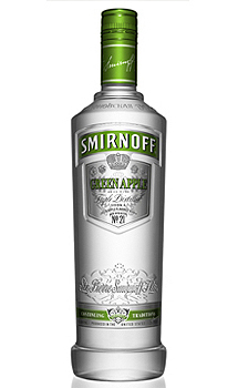 Smirnoff® Green Apple Flavored Vodka