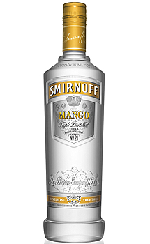 SMIRNOFF MANGO FLAVORED VODKA