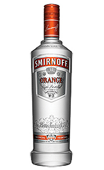 SMIRNOFF ORANGE FLAVORED VODKA