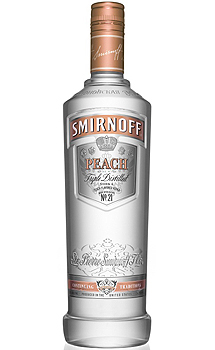 SMIRNOFF PEACH FLAVORED VODKA
