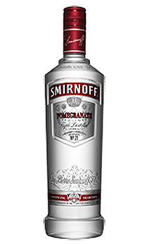 SMIRNOFF POMEGRANATE FLAVORED VODKA