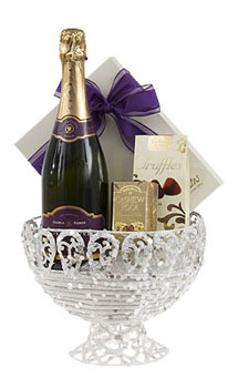 SPARKLING ARRANGEMENT GIFT BASKET