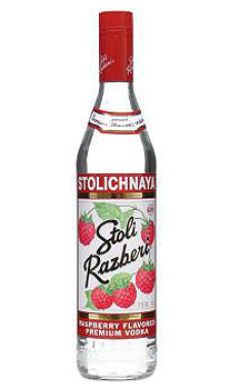 STOLI RAZBERI VODKA - 750ML