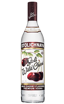STOLI WILD CHERRI VODKA - 750ML