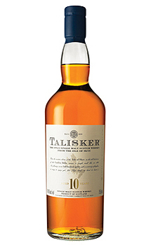 TALISKER 10 YEAR OLD SINGLE MALT