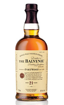 The Balvenie Portwood Aged 21 Years Single Malt Scotch Whisky