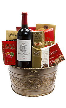 THE CHATEAU WINE GIFT BASKET