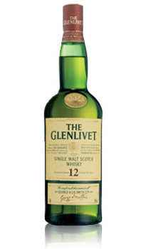 THE GLENLIVET 12 YEAR OLD SINGLE MALT - 750ML