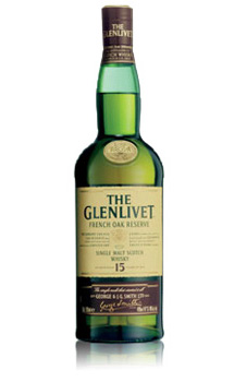 THE GLENLIVET 15 YEAR OLD FRENCH OAK RESERVE SINGLE MALT