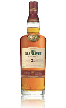 THE GLENLIVET 21 YEAR OLD SINGLE MALT - 750ML