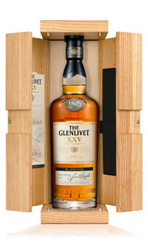 THE GLENLIVET XXV (25 YEAR OLD) SINGLE MALT - 750ML