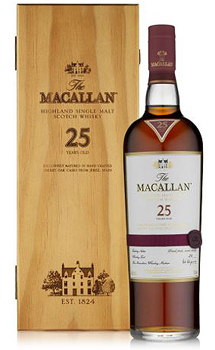 THE MACALLAN 25 YEAR OLD SINGLE MAL
