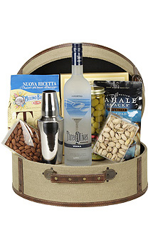 THE THREE-O MARTINI GIFT BASKET