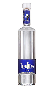 THREE OLIVES UNFLAVORED VODKA