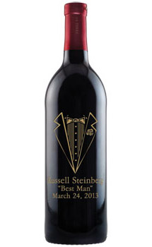 Engraved Wine Bottles For Wedding Gift : Etched & Personalized Wine Bottles