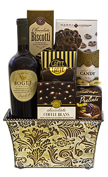 WINE RETREAT GIFT BASKET
