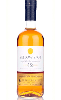 YELLOW SPOT 12 YEAR OLD POT STILL IRISH WHISKEY