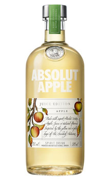ABSOLUT VODKA APPLE JUICE EDITION