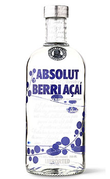 ABSOLUT VODKA BERRI ACAI