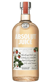 ABSOLUT VODKA STRAWBERRY JUICE EDIT