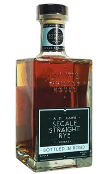 A.D. LAWS RYE BOTTLED SECALE
