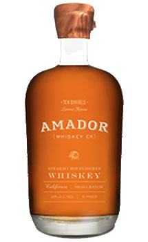 Amador Whiskey Co. Whiskey Ten Barrels