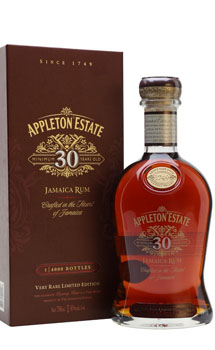 APPLETON ESTATE RUM 30 YEAR LIMITED