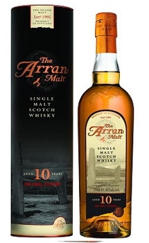 ARRAN MALT SCOTCH SINGLE MALT 10 YE