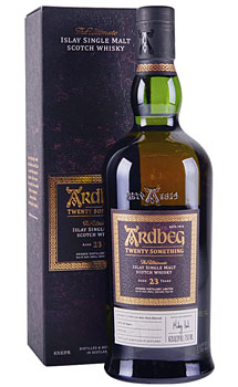 ARDBEG SCOTCH SINGLE MALT 23 YEAR TWENTY SOMETHING