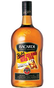 BACARDI PARTY DRINKS RUM LONG ISLAND ICE TEA