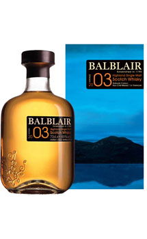 BALBLAIR SCOTCH SINGLE MALT 2003