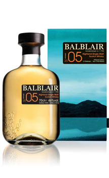 BALBLAIR SCOTCH SINGLE MALT 2005 -