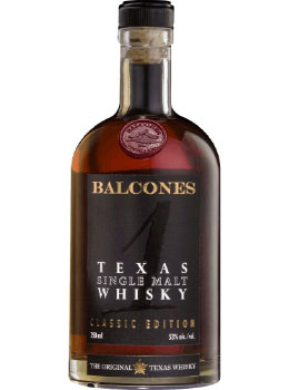 BALCONES TEXAS SINGLE MALT TEXAS 1