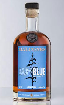 BALCONES BABY BLUE TEXAS WHISKEY NV