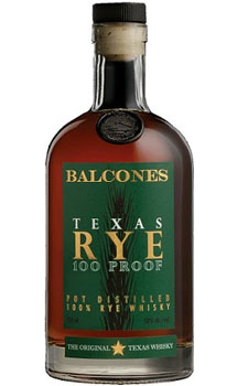 BALCONES WHISKEY TEXAS RYE