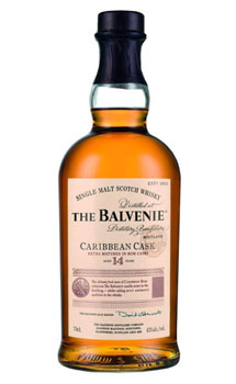 BALVENIE 14 YEAR OLD CARIBBEAN CASK SINGLE MALT SCOTCH - 750ML