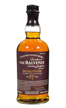 BALVENIE 17 YEAR DOUBLEWOOD SINGLE MALT SCOTCH -750ML