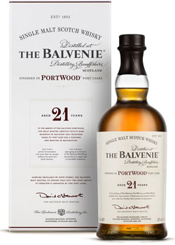 BALVENIE 21 YEAR OLD PORTWOOD SINGLE MALT SCOTCH - 750ML