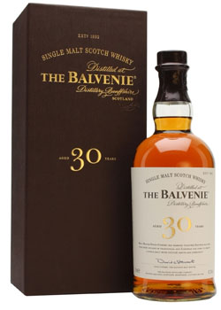 BALVENIE 30 YEAR OLD SINGLE MALT SCOTCH - 750ML