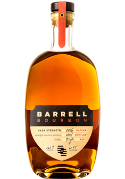 barrell bourbon barrell strength batch 002