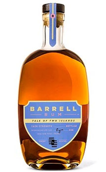 BARRELL RUM CASK STRENGTH TALE OF TWO ISLANDS