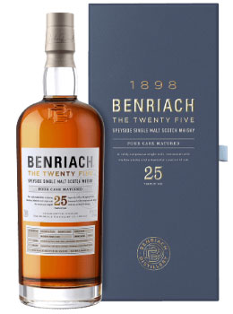 BENRIACH SCOTCH SINGLE MALT 25 YEAR