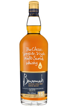 BENROMACH SCOTCH SINGLE MALT 15 YEA
